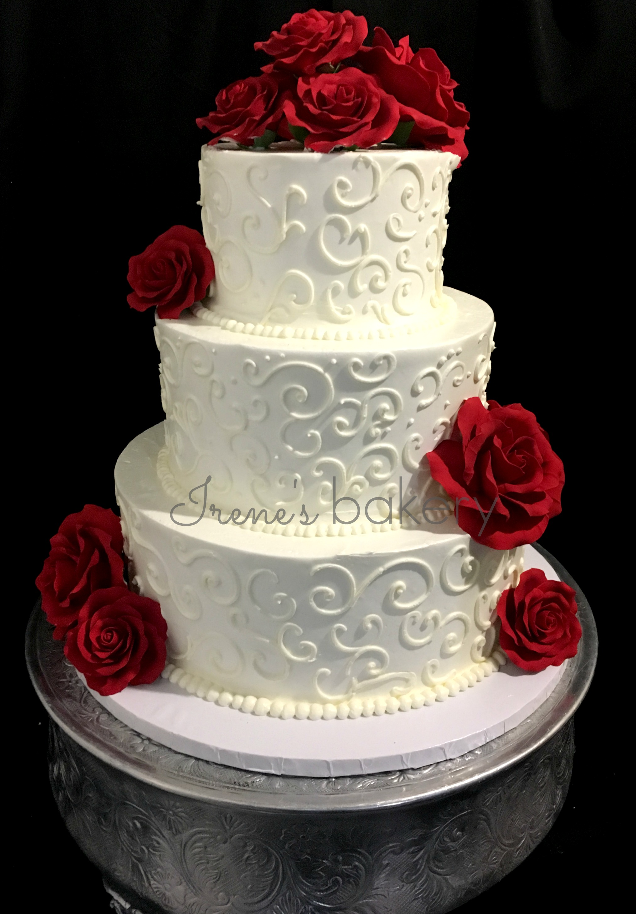 Wedding Cakes Irenes Bakery