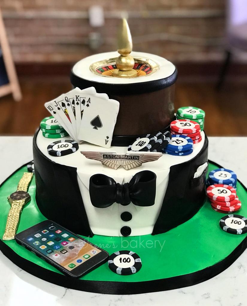 Adult Birthday Cakes Irenes Bakery